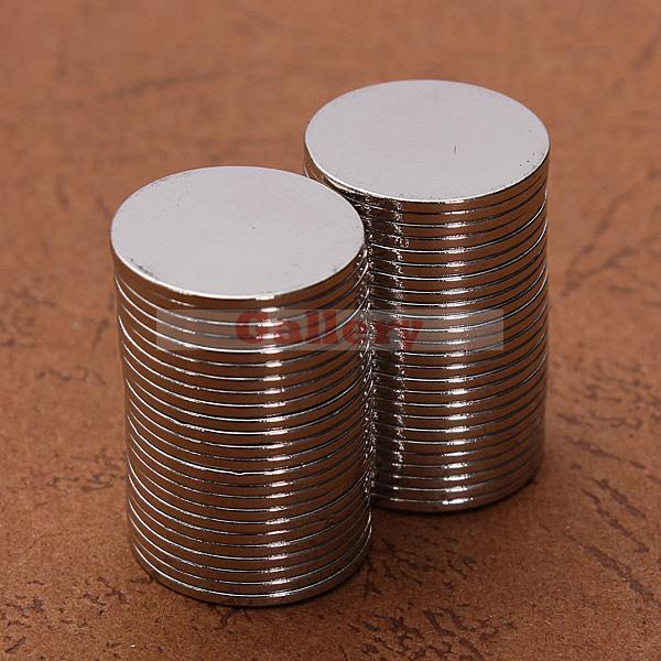 Гаджет  2015 Promotion Iman Neodimio Aimant Neodymium Magnets 100 Pcs N50 Super Strong Round Disc Magnet Rare Earth Neodymium 15mmx1mm  None Строительство и Недвижимость