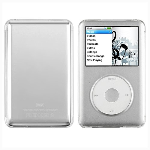 Clear Crystal Hard Case Skin Cover For MP3 Apple iPod Classic 80GB 120GB 160GB(China (Mainland))