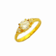 wholesale 24k gold ring