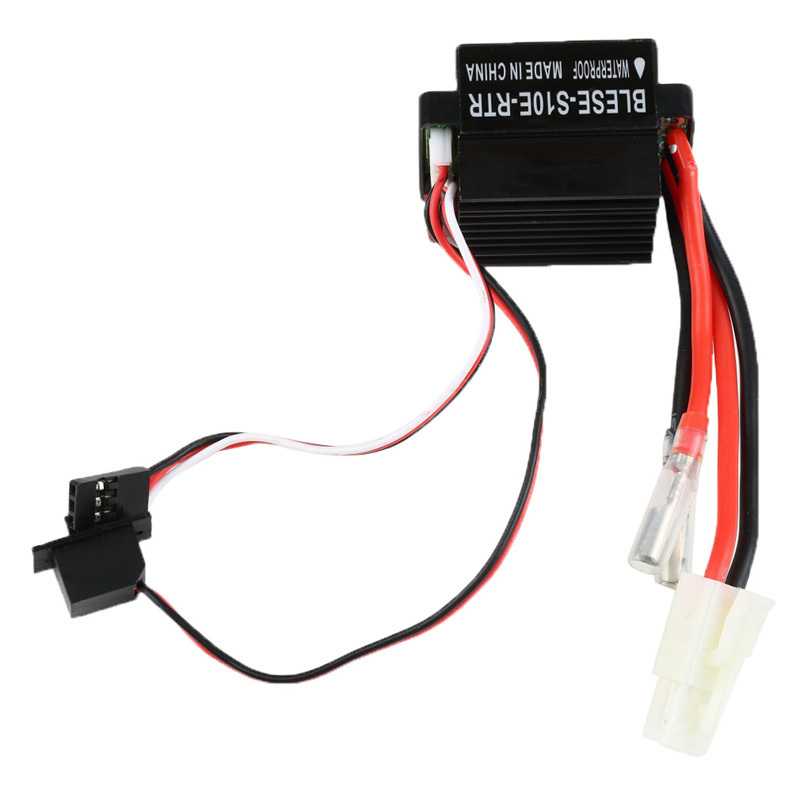New Black 7.4-11.1V 320A RC ESC Brushed Motor Speed Controller for RC Car Boat Free Shipping Wholesale and Retails ARE4(China (Mainland))