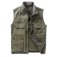 SheXiang Mrs 2016 Men's Military Photo Waistcoat Jacket for Outdoor Hunting Photography Tourism Camping Vest with Many Pockets(China (Mainland))