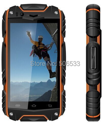 Original cell phone Discovery V8 Android 4.4 GPS MTK6572 512+4G dual Core Waterproof Dustproof Shockproof Polish Cestina Greek(China (Mainland))