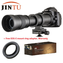 Buy JINTU Free Ship 420-800mm F/8.3-16 Telephoto Manual Zoom Lens +T2 Mount Ring Adapter Canon EOS EF EF-S Mount DSLR Camera for $118.90 in AliExpress store
