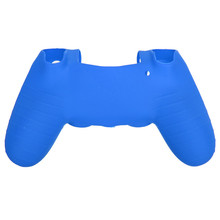 New Special Offer Blue Color High Quality Silicone Protective Skin Case Cover For SONY For PlayStation 4 For PS4(China (Mainland))