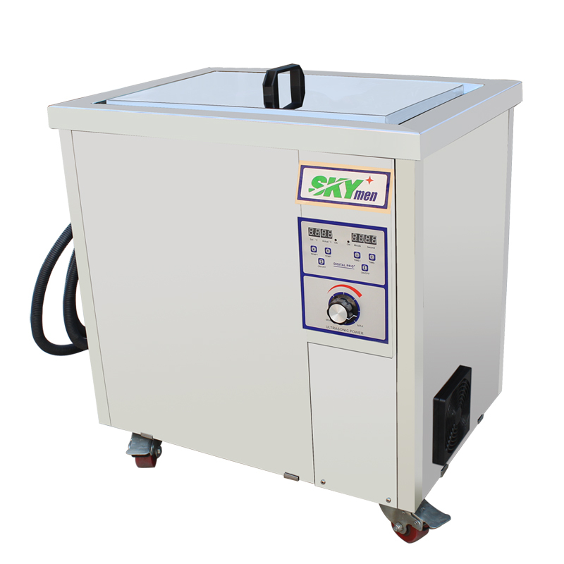 Diesel tank ultrasonic cleaning machine, 77L ultrasonic cleaner(China (Mainland))