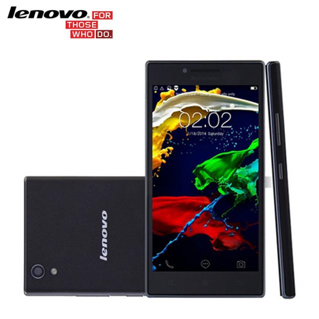 """Оригинал lenovo P70 P70-T P70t GSM Quad Core 5 """"IPS 2 Г RAM 16 Г ROM Android 4.4 Сотовые Телефоны 4000 мАч Батареи 13.0MP камера"""