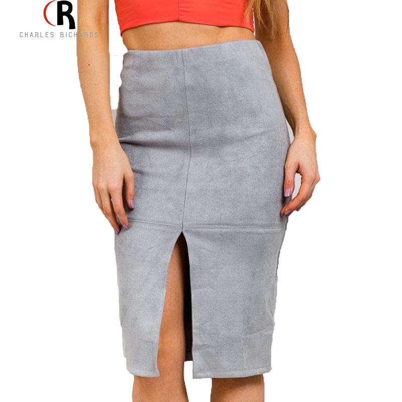 Женская юбка Faux 2015