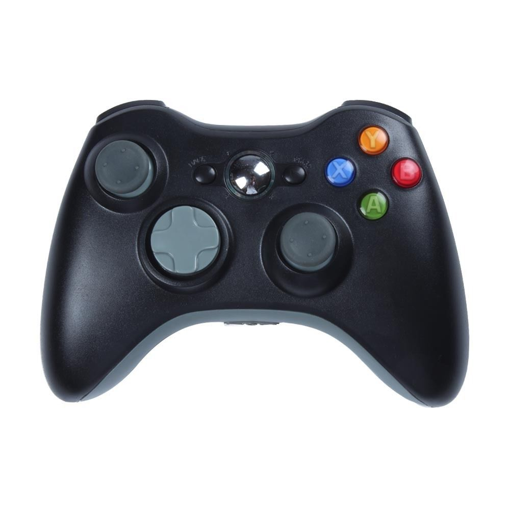 Black 2.4GHz Wireless Game Pad Remote Controller for Microsoft Xbox 360 Console Wireless Game Controller(China (Mainland))