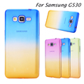 For Samsung Galaxy Grand Prime Case G530 G531 G531H Ultra Thin Fundas Gradient Color Transparent Clear