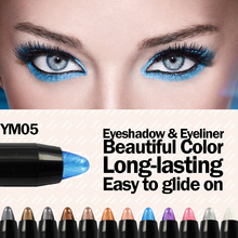 Beauty Outlet color eyeliners and eyeshadow pencil blue color