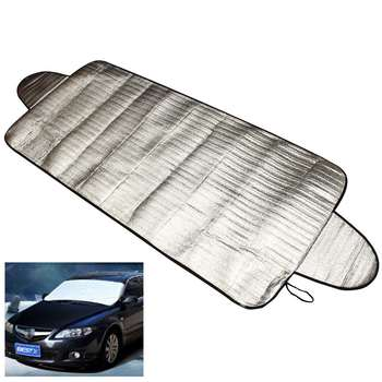 2016 New 192 x 70cm Car Windscreen Cover Heat Sun Shade Anti Snow Frost Ice Shield Dust Protector