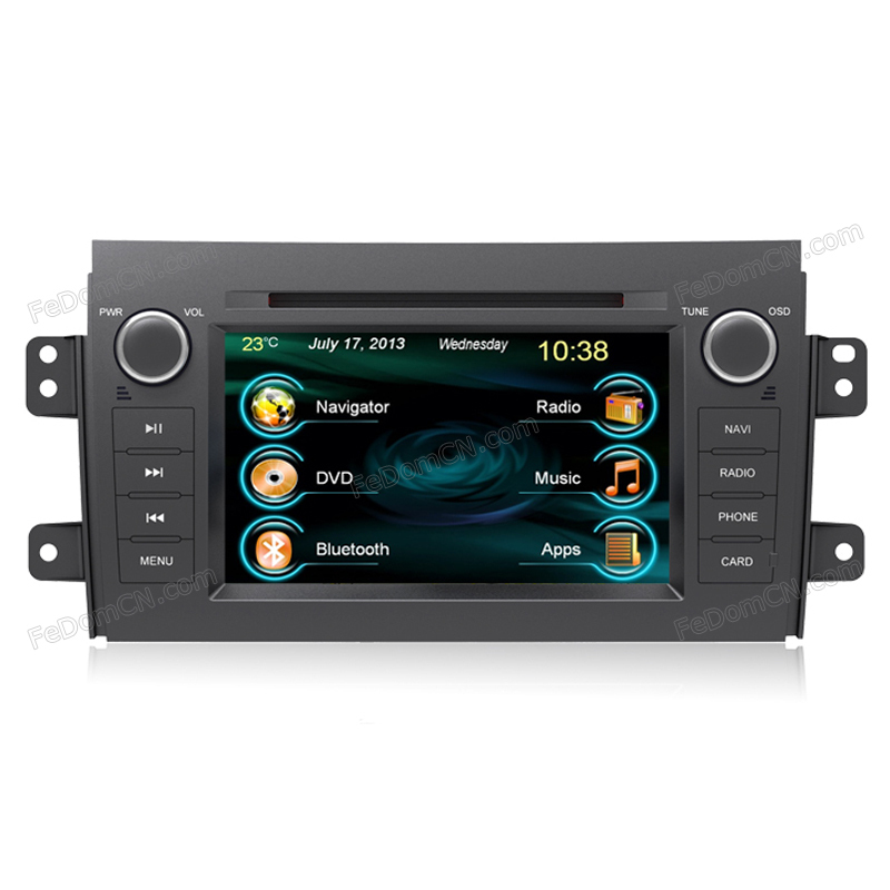 2015 for Suzuki SX4 Car DVD player gps tracker sound free latest navitel map radio stereo automotivo touch screen OEM design(China (Mainland))