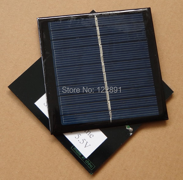 Wholesale! Polycrystalline Solar Cell 1W 5V Solar Panel Solar Module Solar Cells DIY Charger 24pcs/lot Free Shipping(China (Mainland))