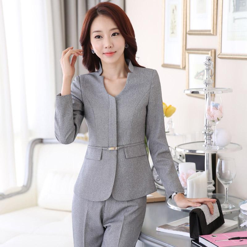 buy women work wear pant suits ladies