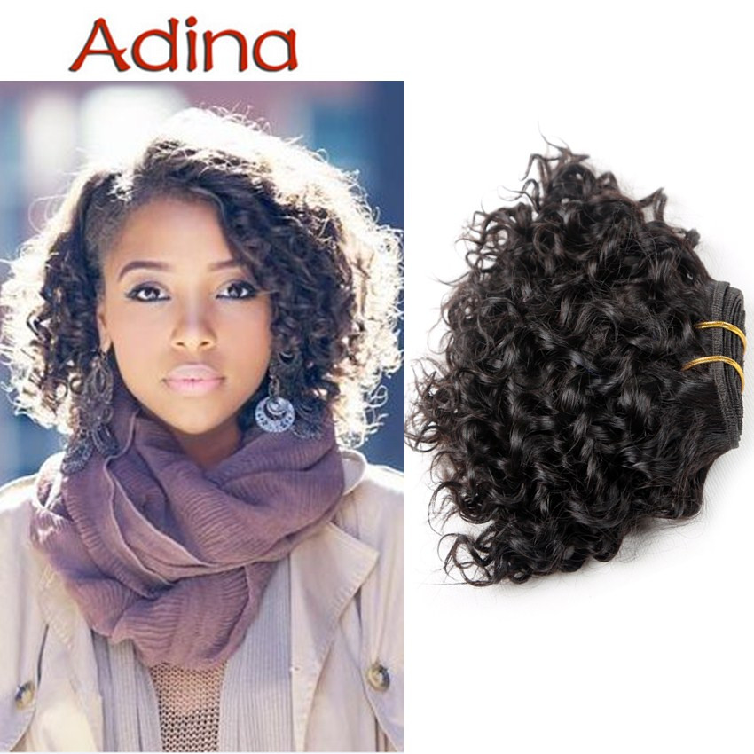 Sexy Formula Hair Brazilian Virgin Hair Short Kinky Curly Rosa Hair Human Hair Weave 3 Bundles Ali Moda Brazilian Short Curly