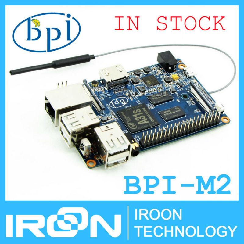 Original BPI-M2 BananaPi M2 A31S Quad Core 1GB RAM on-board WiFi Open-source development board SBC.2dB WiFi Antenna is included(China (Mainland))