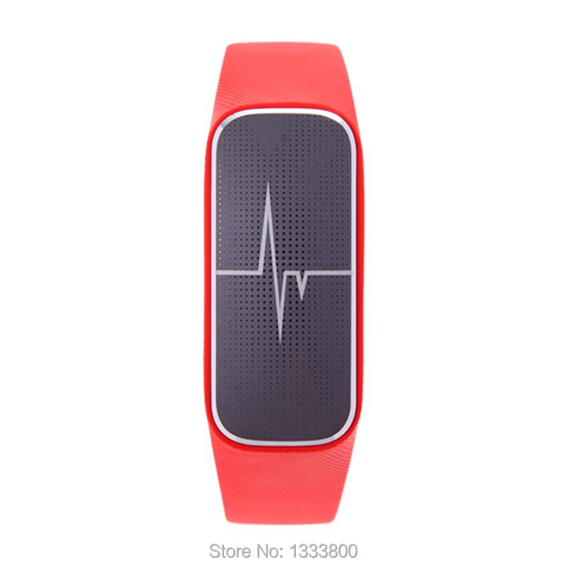 ถูก L18 IP54บลูทูธนาฬิกาสร้อยข้อมือสมาร์ทสนับสนุนPedometer/ความดันโลหิต/Heart Rate Monitor/การนอนหลับการตรวจสอบOD # S