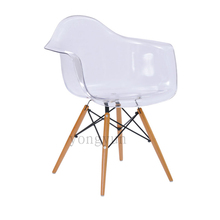 Buy Living Room Furniture Home Table Casual Plastic dining chairs negotiation table contracted leisure chairs transparent for $158.00 in AliExpress store