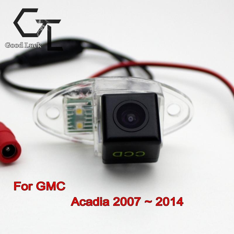 Car Camera For GMC Acadia 2007 ~ 2014 wireless Car Parking Camera Rear Camera HD CCD Night Vision Car Reverse Camera(China (Mainland))