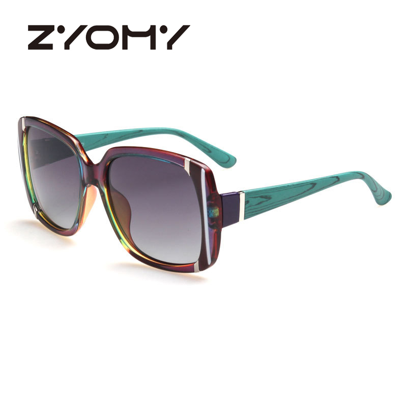 ZYOMY Explosion models brand polarized sunglasses driving mirror sun mirror stock sunglasses women brand designer 2016 luxury(China (Mainland))