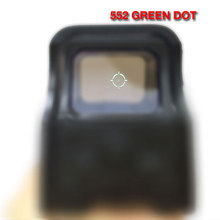 Tactique 552 holographique Sight rouge et Green Dot Sight portée pour Airsoft HT5-0002(China (Mainland))