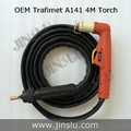 Trafimet Style Plasma Torch A141 4M Air cooled for Plasma Cutting Machine