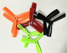 12 pairs * 4045 bullnose propellers high-quality 4*4.5 inch 3 blades(CW/CCW) for DIY mini race drones QAV180/QAV210 quadcopter