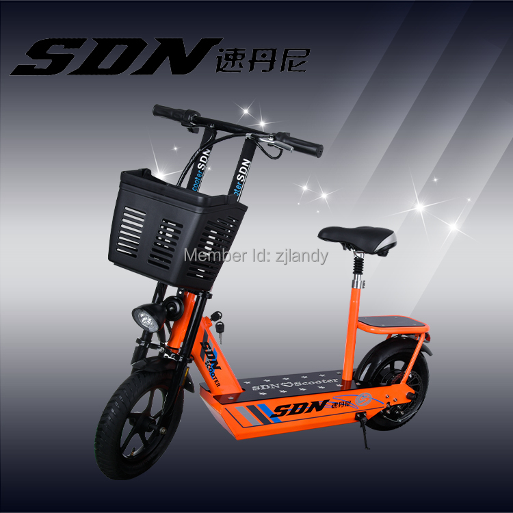 2 Wheel Fashion Folding Scooters Electric Scooter In
