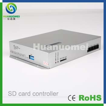 SD card controller,Via PC led control ,8x1024pixels led digital controller T-300k(China (Mainland))