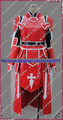 New Custom made Heathcliff Cosplay Costume from Sword Art Online Halloween Christmas Costumes With Shoes Cover