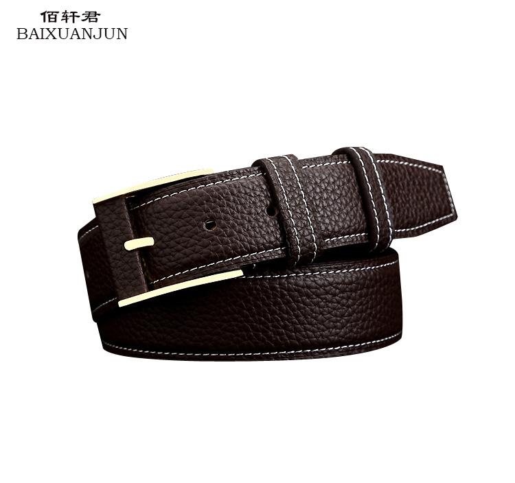baixuanjun 2016 new high quality leather belt s