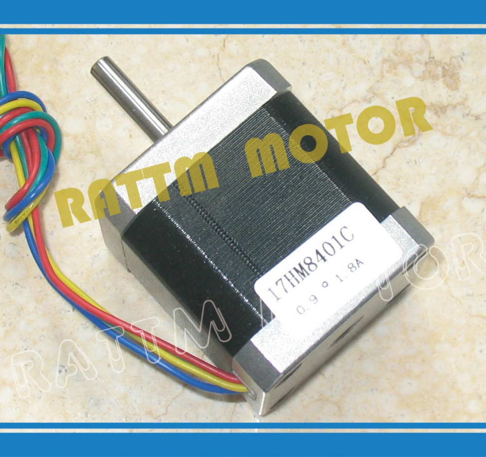 New products!!! Nema17 stepper motor 0.9 deg /48mm/ 78 Oz-in / 1.8A CNC stepper motor stepping motor(China (Mainland))