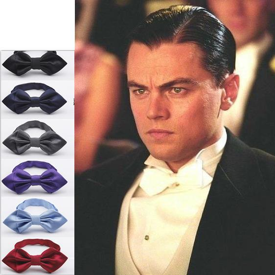 Styles of bow ties