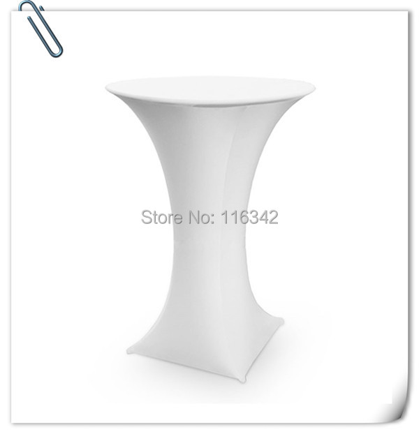Big Discount !!!! 20pcs many colors spandex lycra cocktail table cover ( Dia 60cm *110cm H) Free SHipping(China (Mainland))
