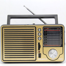 Vintage Vintage Vintage FM radio elderly full band desktop support USB elderly gifts