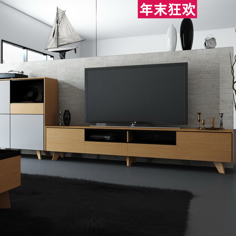 combinaison r tractable meuble tv moderne minimaliste style scandinave bol p kin peinture la. Black Bedroom Furniture Sets. Home Design Ideas