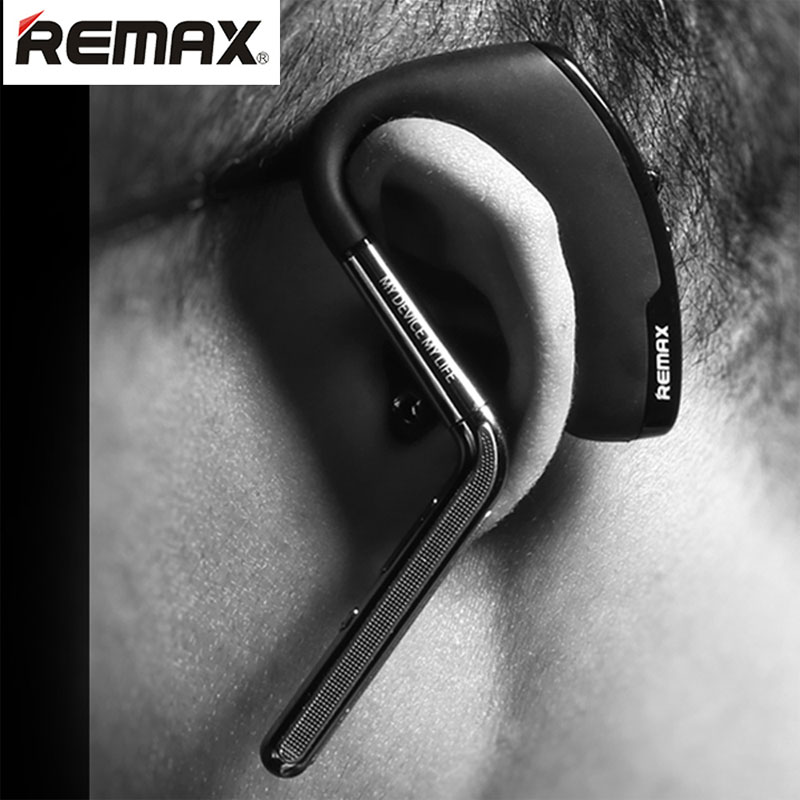 Remax Metal Wind Noise Canceling Bluetooth Headset Wireless HD Sound Earphone for iPhone 4 5 6 6S Plus Samsung Galaxy S4 S5 S6(China (Mainland))