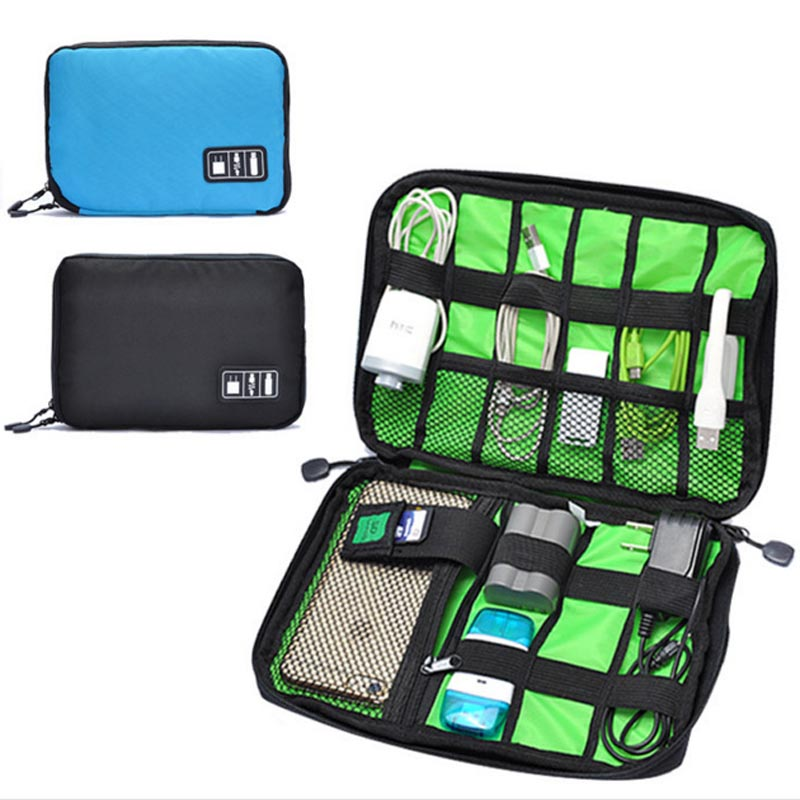 Simple Portable Digital Storage Bag Travel Data Lines U Disk Pack Waterproof Storage Bag Drop Resistance TB Sale(China (Mainland))