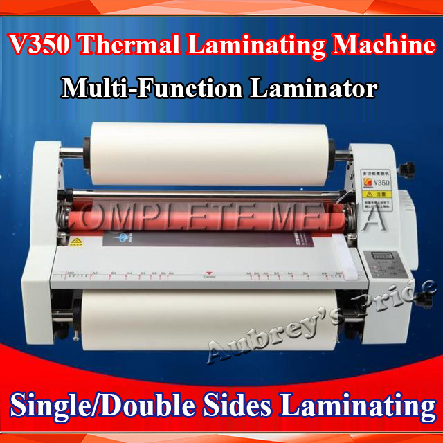 "Free Shipping A3 13"" 350MM High Speed Thermal Hot Cold Laminating Machine Mounting Roll Laminator Bopp Film(China (Mainland))"