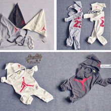 2015 new Newborn Baby Rompers Cartoon Infant Long Sleeve Jumpsuits Children Pajamas Boys Girls Spring Summer Autumn Wear(China (Mainland))