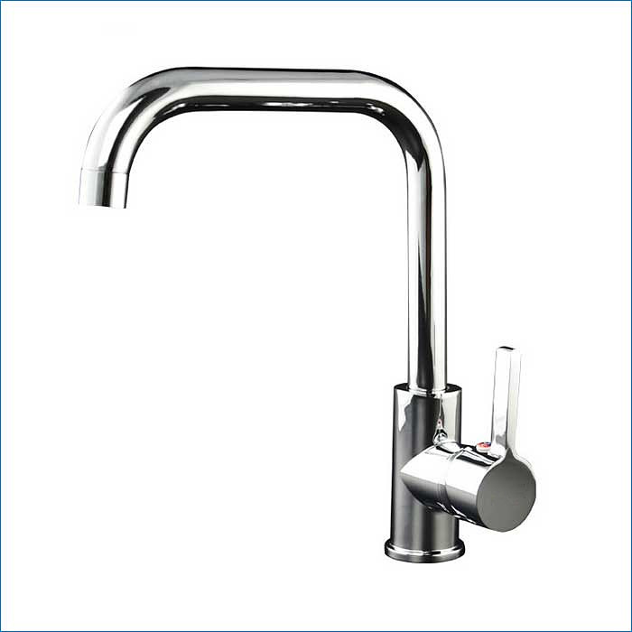 rotation Single handle single hole kitchen sink faucet