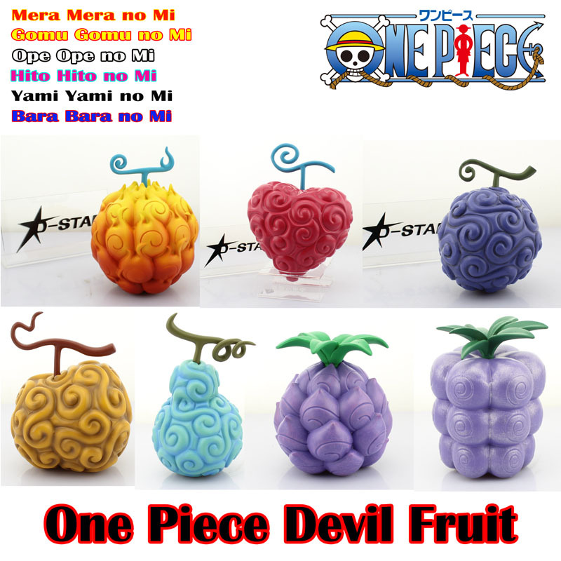 Free Shipping 7pcs One Piece Devil Fruit Luffy Ace Edward Chopper Super Power Fruit Boxed PVC Action Figure Collection Model Toy<br><br>Aliexpress