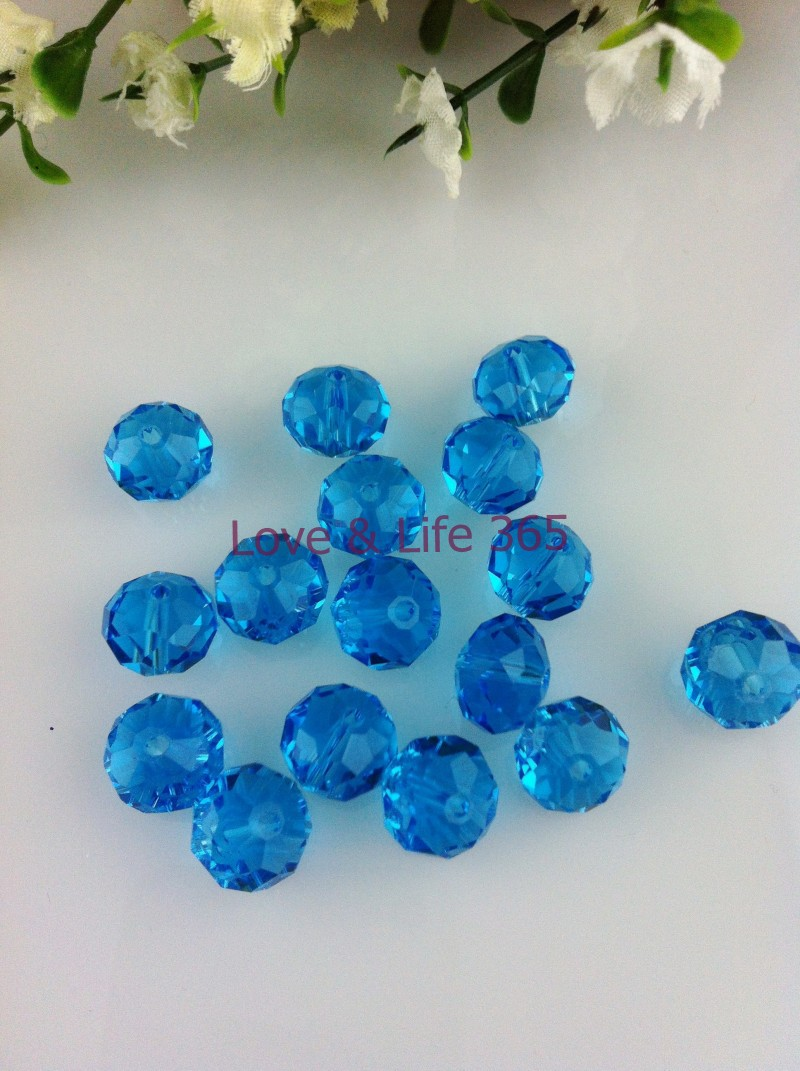 Free Shipping! Wholesale AAA Top Quality Crystal Flat Rondelle Beads Clear Lake Blue 6mm 1000pcs (Choose the color you like)(China (Mainland))