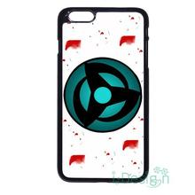 Fit for iPhone 4 4s 5 5s 5c se 6 6s 7 plus ipod touch 4/5/6 back skins cellphone case cover Naruto Mangekou Sharingan
