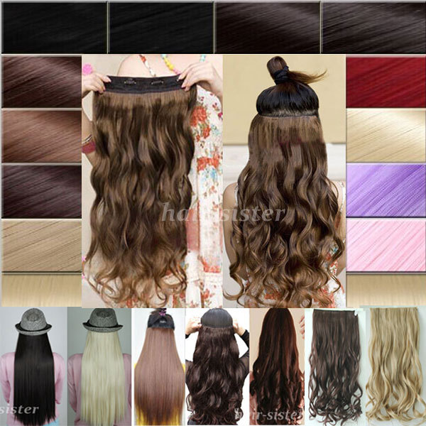 One Piece Real Hair Extensions 16