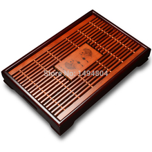 Tea Tray High Quality 43cm*28cm*6cm Chinese Solid Tea Tray, Household Tea Board,Chinese Tea set/Teasets