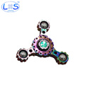 Hot Selling Brass Hand Spinner Tri Spinner Fingertip Gyroscope Toy Autism And ADHD Rotation Time Long