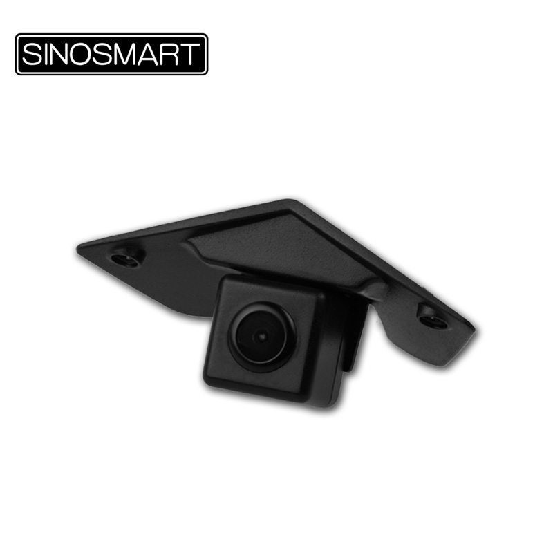 SINOSMART In Stock High Quality Car Front View Parking Camera for Mercedes Benz Series Install in the Brand Logo/Grill Plastic(Hong Kong)
