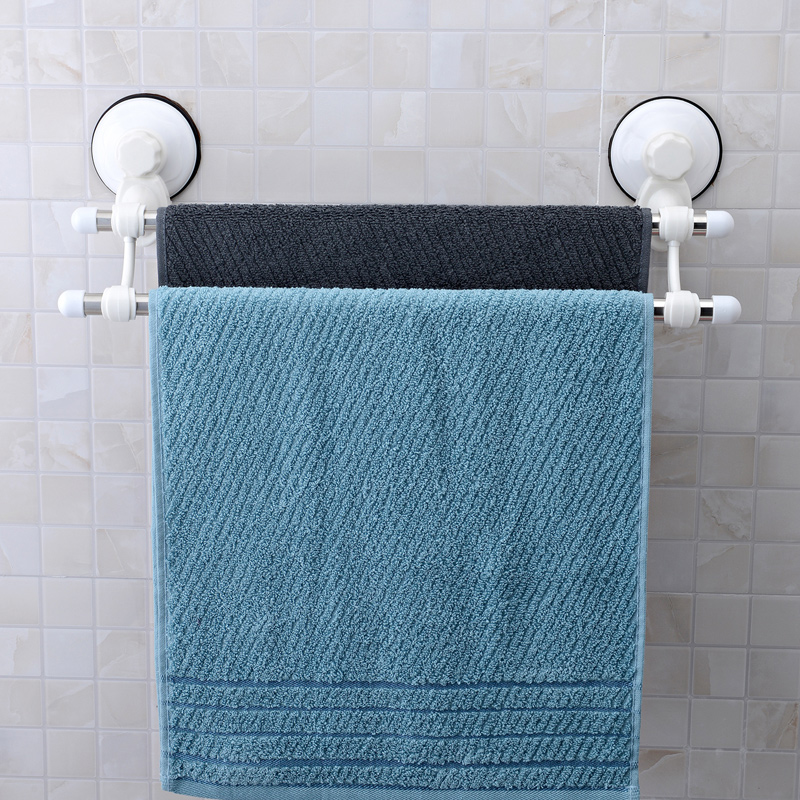 suction cup towel rack stainless steel towel rack towel rail produits de salle de. Black Bedroom Furniture Sets. Home Design Ideas