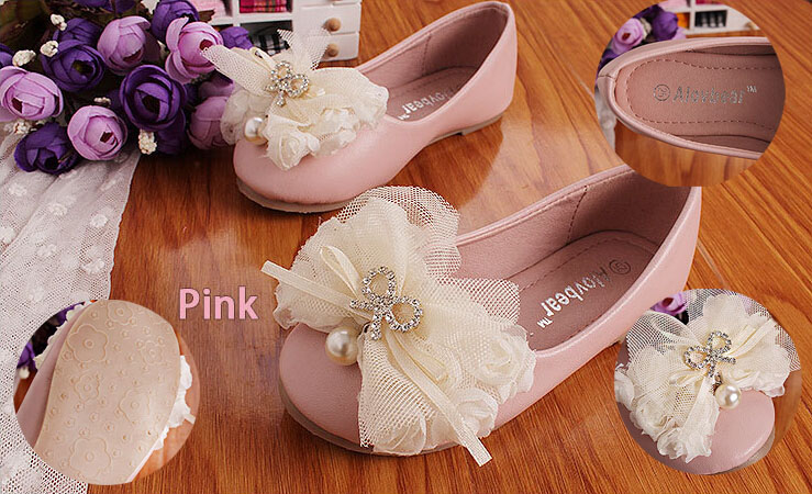2015 Spring New Arrival Slip-On Children's Shoes Girls Princess Shoes Kids PU Soft Leather Rubber Girls Dress Shoes(China (Mainland))